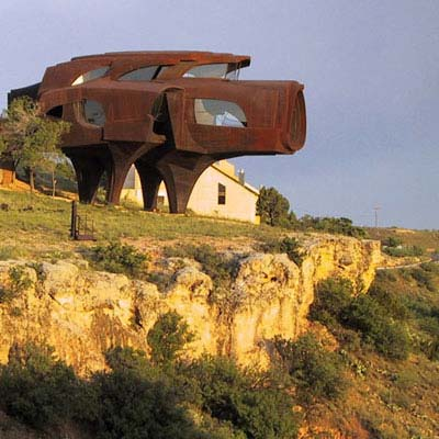 Steel House in Ransom Canyon, Texas for wildest houses