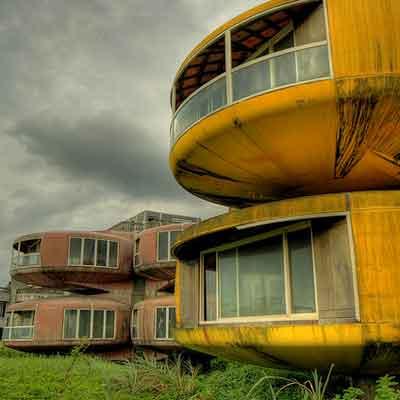UFO houses in taiwan