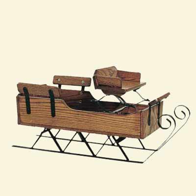 Wooden Sled Pattern PDF Woodworking