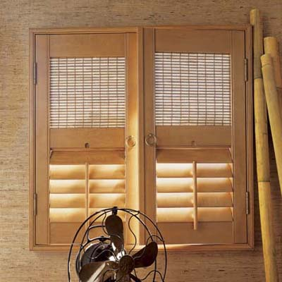 Combination interior shutters this old house for Interieur shutters