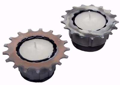 bike cog candles