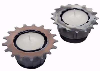bike cog candles