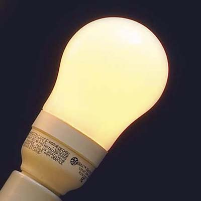 General Electric compact flourescent for general lighting