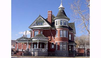 Ferris Mansion, Haunted Queen Anne