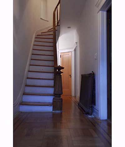 Scott Omelianuk's sloping staircase