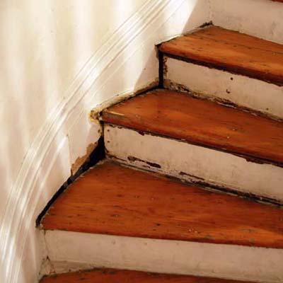 Scott Omelianuk's stairway treads