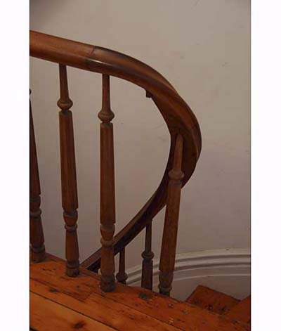 Missing Baluster on Scott Omelianuk's staircase