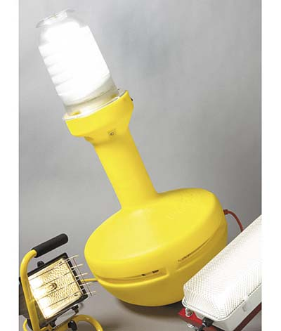 WobbleLight 360-degree work light