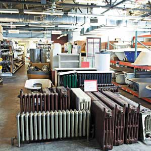 house-parts recycling center