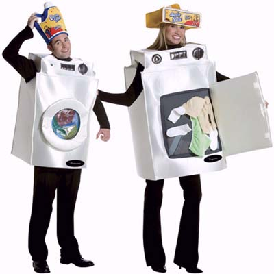 washer and dryer halloween costume