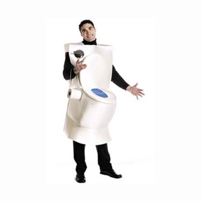 toilet halloween costume