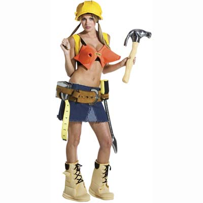 sexy contractor halloween costume