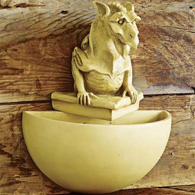 cornerstone sconce gargoyle