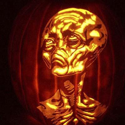 pumpkin carving jack-o-lantern