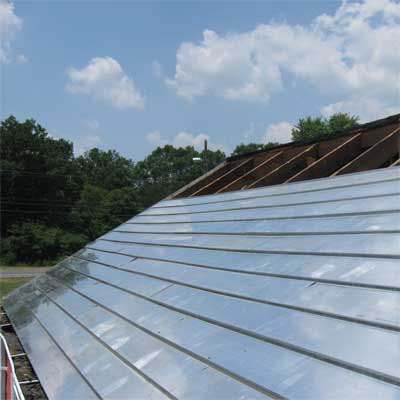 hurricane-proof roof showcased at the 2011 international builders show