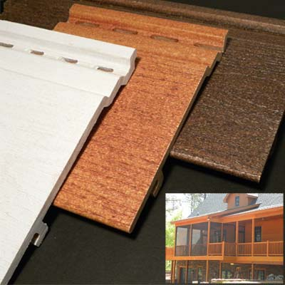 composite wood  showcased at the 2011 international builders show