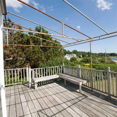 Removing the Rust from this waterfront barrington rhode island beach house
