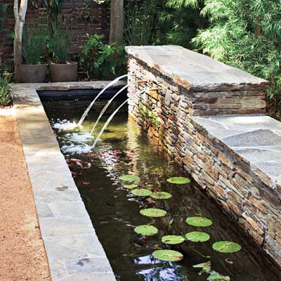 Type formal everything you need to know to build the for Concrete garden pond