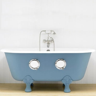 bathtub with portholes wacky bath product