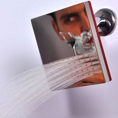 shower head mirror combo wacky bath product