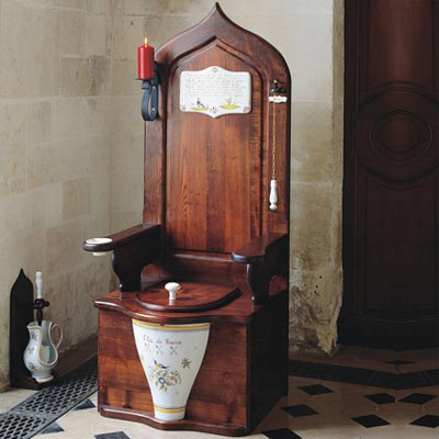 toilet throne wacky bath product