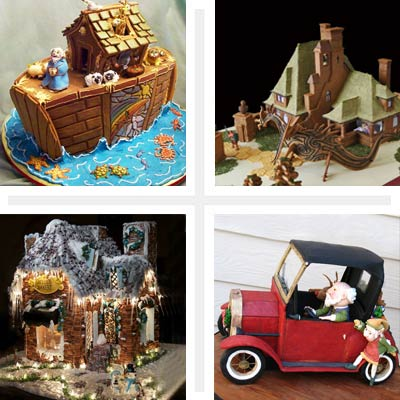Gingerbread houses; TOH Gingerbread House Contest; 4