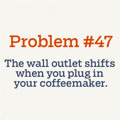 wall outlet shifts