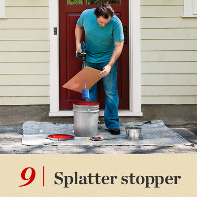splatter stopping reader tip to save time and money