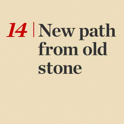 New Path From Old Stone reader tip to save time and money