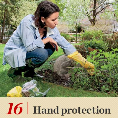 Hand Protection reader tip to save time and money