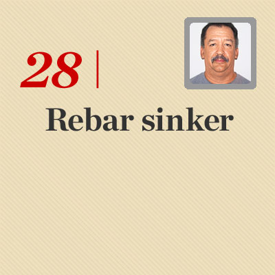 Rebar sinker reader tip to save time and money