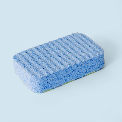 Sponge for etching glass
