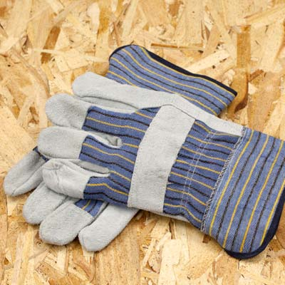 reinforced work gloves