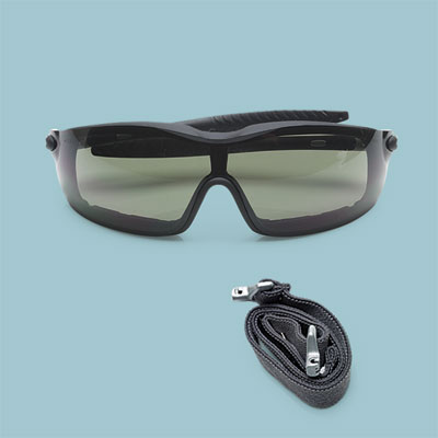Crews Rattler workshop safety glasses