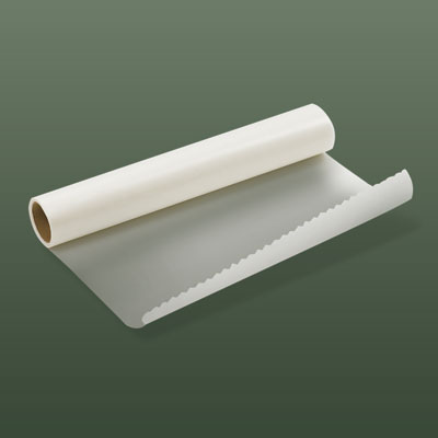 a roll of wax paper
