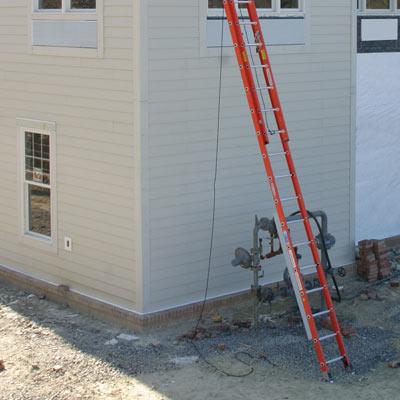 Ladder angle