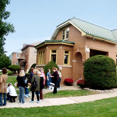 open house in Berwyn, Illinois