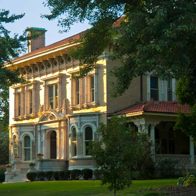 a manse in Compton Heights, St. Louis, Missouri
