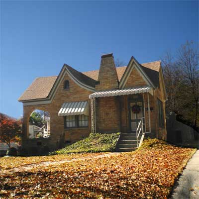 a house in Park Hill, North Little Rock, Arkansas
