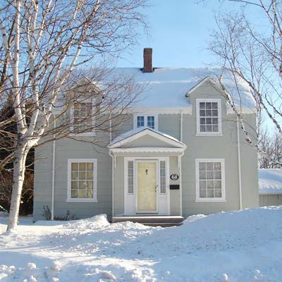 house located in Charlottetown, Prince Edward Island, Canada