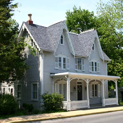 a house in Milton, Delaware