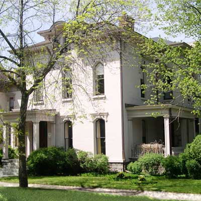 a house in Heritage Hill, Grand Rapids, Michigan 