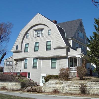 a house in Field Club Historic District, Omaha, Nebraska