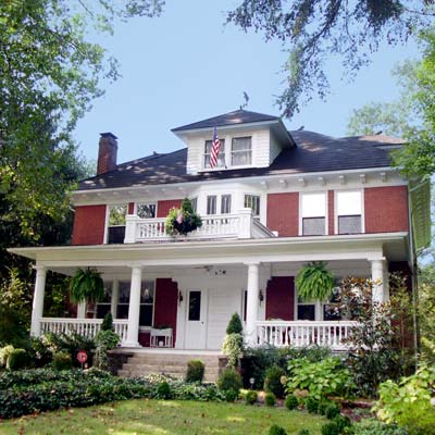 house in Montford Historic District, Asheville, North Carolina