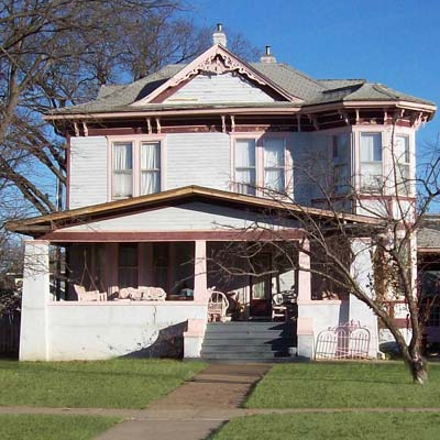 victorian house in Bartlesville, Oklahoma