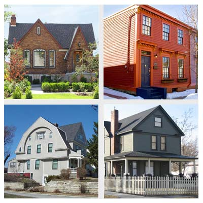 best old house neighborhoods for singles