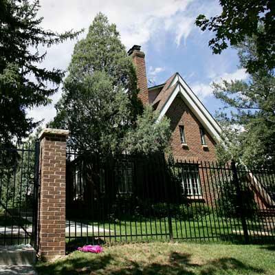 Ramsey house, site of JonBenet Ramsey murder