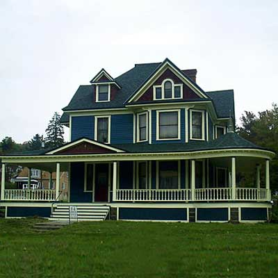 Wilcox, Pennsylvania victorian after turned into spectacular home