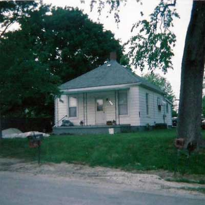 TIny Cottage before turned into spectacular home