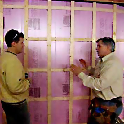 Finishing Foundation Walls Insulated Stud Walls Read